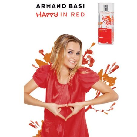 Арманд Баси. Счастлива в красном туалетная вода