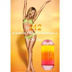 Каролина Херрера на льду. Парфюмерная вода (eau de parfum - edp) и туалетные духи (parfum de toilette) женские