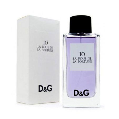 D & G 10 La Roue De La Fortune (Дольче энд Габбана 10 ля роу дэ ля фортун). Парфюмерная вода (eau de parfum - edp) и туалетные духи (parfum de toilette) unisex