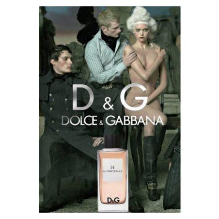 D & G 14 La Temperance. Парфюмерная вода (eau de parfum - edp) и туалетные духи (parfum de toilette) женские