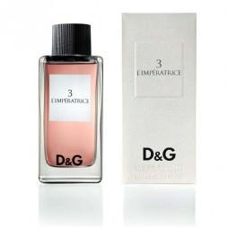 D & G №3 L Imperatrice / Дольче и Габбана 3 Эль Императрис. Туалетная вода (eau de toilette - edt)