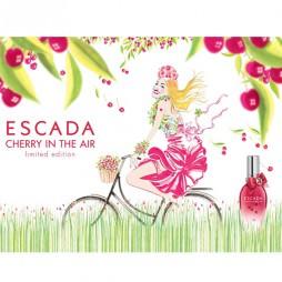 Escada Cherry in the Air edt 100 ml / Запах вишни в воздухе от Эскада. Парфюмерная вода (eau de parfum - edp) и туалетные духи (parfum de toilette) женские