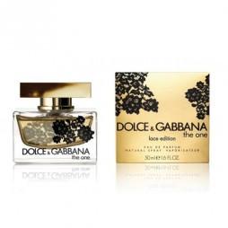DG The One Lace Edition / Дольче Габбана. Кружевное издание. Парфюмерная вода (eau de parfum - edp) и туалетные духи (parfum de toilette) женские