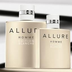 Allure Homme Edition Blanche Chanel Man (Шанель Аллюр Хом Эдишн Бланш). Туалетная вода (eau de toilette - edt) мужская / Одеколон (eau de cologne - edc)