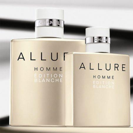 Allure Homme Edition Blanche Chanel Man (Шанель Аллюр Хом Эдишн Бланш). Туалетная вода (eau de toilette - edt) мужская / Одеколон (eau de cologne - edc)