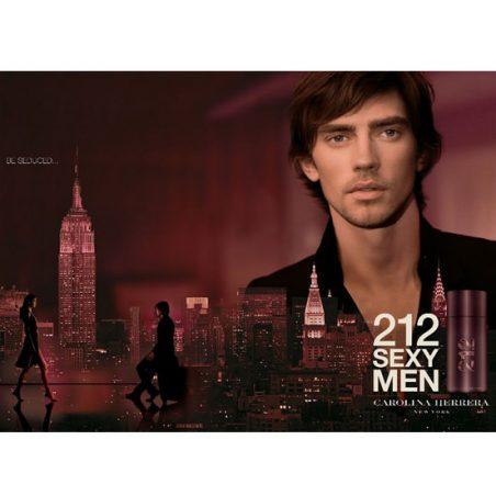 CH 212 Sexy Man. Парфюмерная вода (eau de parfum - edp) и туалетные духи (parfum de toilette) мужские