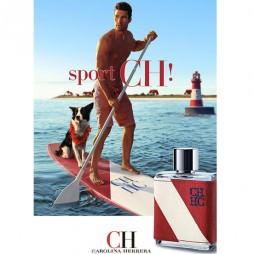 Каролина Херрера CH Спорт для мужчин. Парфюмерная вода (eau de parfum - edp) и туалетные духи (parfum de toilette) мужские
