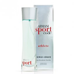 Code Sport Athlete Giorgio Armani. Парфюмерная вода (eau de parfum - edp) и туалетные духи (parfum de toilette) мужские