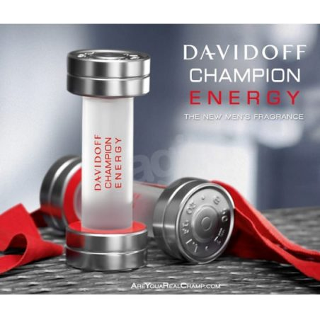 Davidoff Champion Energy. Парфюмерная вода (eau de parfum - edp) и туалетные духи (parfum de toilette) мужские