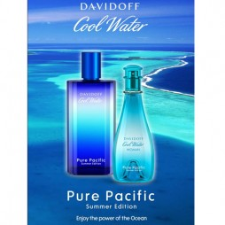 Cool Water Pure Pacific Summer Edition Man Davidoff (Давидофф Кул Вота Пьюр Пасифик Саммэр Эдишн). Парфюмерная вода (eau de parfum - edp) и туалетные духи (parfum de toilette) мужские