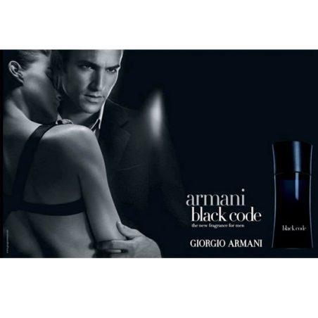 Giorgio Armani Black Code. Парфюмерная вода (eau de parfum - edp) и туалетные духи (parfum de toilette) мужские
