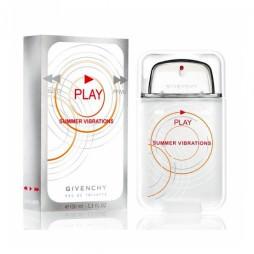 Givenchy Play Summer Vibrations Man (Живанши Плей Летние вибрации). Туалетная вода (eau de toilette - edt) мужская / Одеколон (eau de cologne - edc)