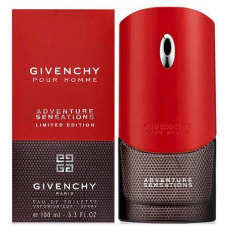 Givenchy Pour Homme Adventure Sensations Man (Живанши Пур Хомме Адвентуре Сенсейшенс). Туалетная вода (eau de toilette - edt) мужская / Одеколон (eau de cologne - edc)