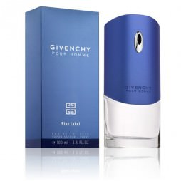 Givenchy Pour Homme Blue Label Man (Живаньши Пур Хом Блю Лейбл). Туалетная вода (eau de toilette - edt) мужская / Одеколон (eau de cologne - edc)
