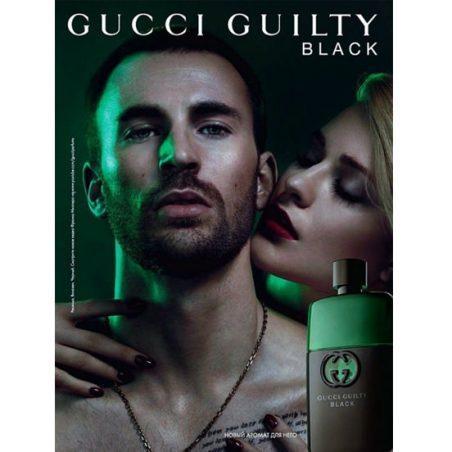 Guilty Black pour Homme Gucci For Men / Гуччи Гилти Блек Пур Омме (Омм). Одеколон (eau de cologne - edc)