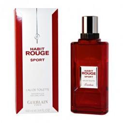 Habit Rouge Sport Man Guerlain (Герлен. Красные одеяния. Спорт). Туалетная вода (eau de toilette - edt) мужская / Одеколон (eau de cologne - edc)