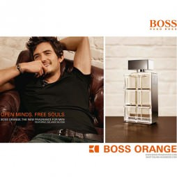 Hugo Boss Orange. Парфюмерная вода (eau de parfum - edp) и туалетные духи (parfum de toilette) мужские