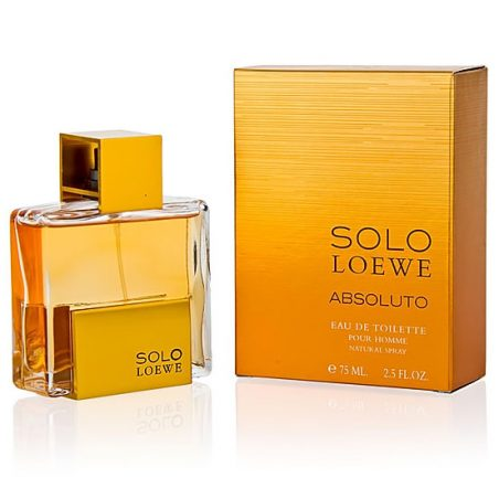 Loewe Solo Absoluto Man / Лоэвэ Абсолюто. Туалетная вода (eau de toilette - edt) мужская / Одеколон (eau de cologne - edc)