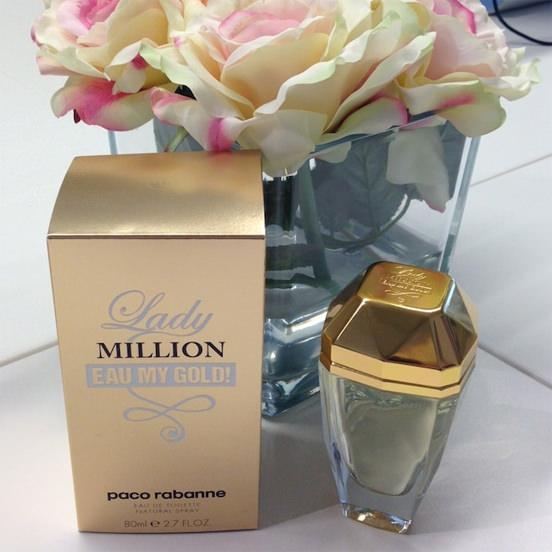 Lady Million Eau My Gold Paco Rabanne
