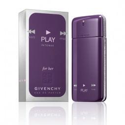Givenchy Play Intense For Her. Парфюмерная вода (eau de parfum - edp) и туалетные духи (parfum de toilette) женские