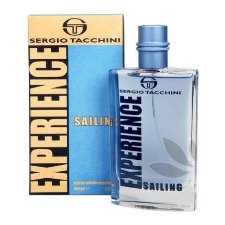 Sergio Tacchini Experience Sailing Man. Туалетная вода (eau de toilette - edt) мужская / Одеколон (eau de cologne - edc)