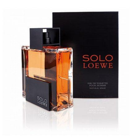 Solo Man Loewe / Лоэвэ Соло. Туалетная вода (eau de toilette - edt) мужская / Одеколон (eau de cologne - edc)