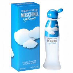 Moschino Cheap and Chic Light Clouds / Мосчино Чип Энд Чик Лайт Клоудс. Туалетная вода (eau de toilette - edt) женская