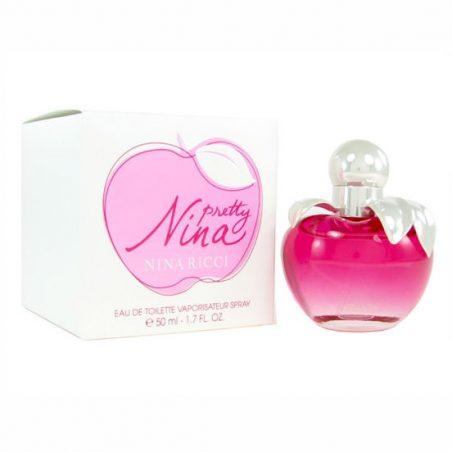 Nina Ricci Nina Pretty 80 ml парфюм. Парфюмерная вода (eau de parfum - edp) и туалетные духи (parfum de toilette) женские