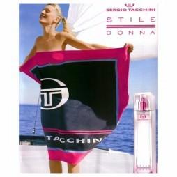 Donna Sergio Tacchini Stile. Парфюмерная вода (eau de parfum - edp) и туалетные духи (parfum de toilette) женские