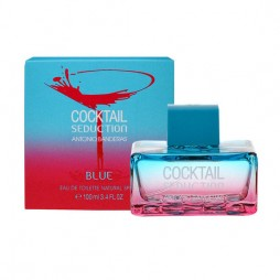 Antonio Banderas Cocktail Seduction in Blue Woman eau de toilette - edt женские