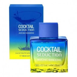 Cocktail Seduction Blue for Men Antonio Banderas / Антонио Бандерас Коктейль Блю Седакшн фор Мен. Туалетная вода (eau de toilette - edt) мужская