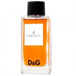 Dolce Gabbana 4 L'Empereur. Парфюмерная вода (eau de parfum - edp) и туалетные духи (parfum de toilette) мужские