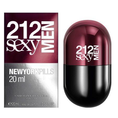 212 Sexy Men Pills Carolina Herrera
